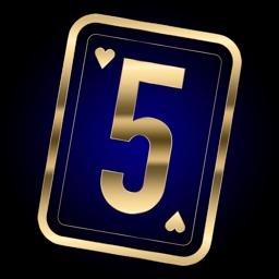 5 Card War Table Game