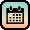 ロック画面カレンダー