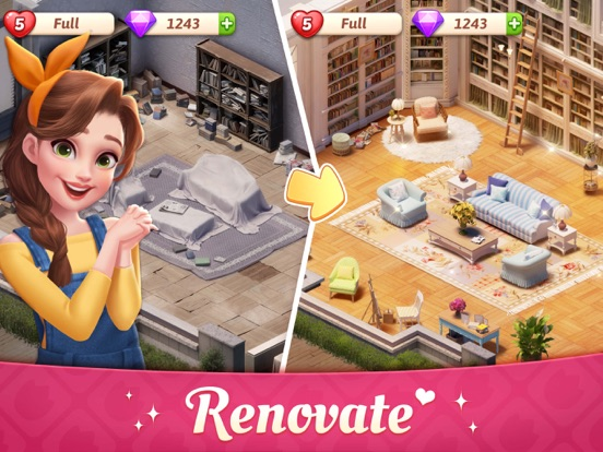 iPad Image of My Story - Mansion Makeover