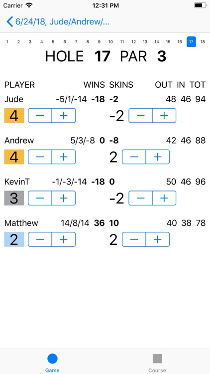 Joe's Scorecard screenshot-3