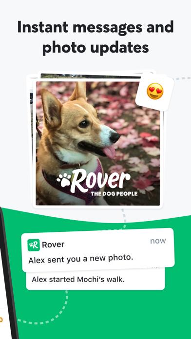 Rover - Pet Sitters & Dog Walkers screenshot