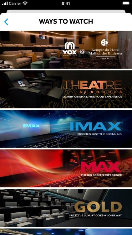 VOX Cinemas App screenshot-3