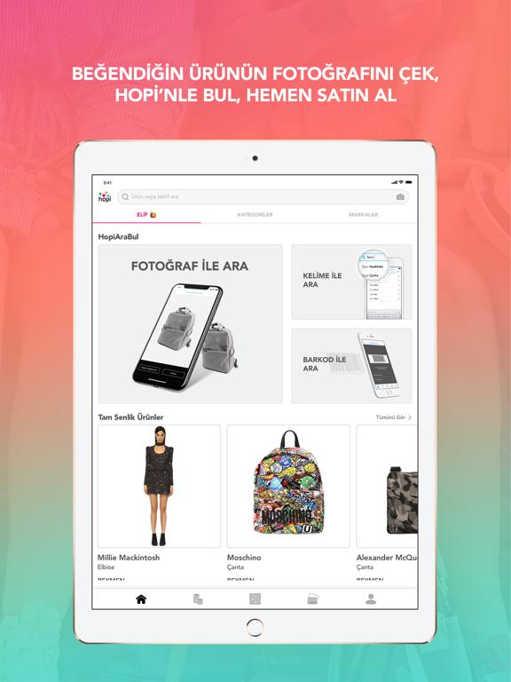 Hopi – Alışverişin App'i ipad ekran görüntüleri