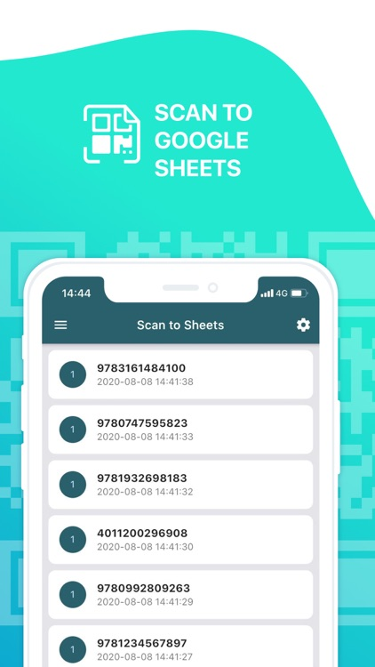 Scan to Sheets - QR & Barcode