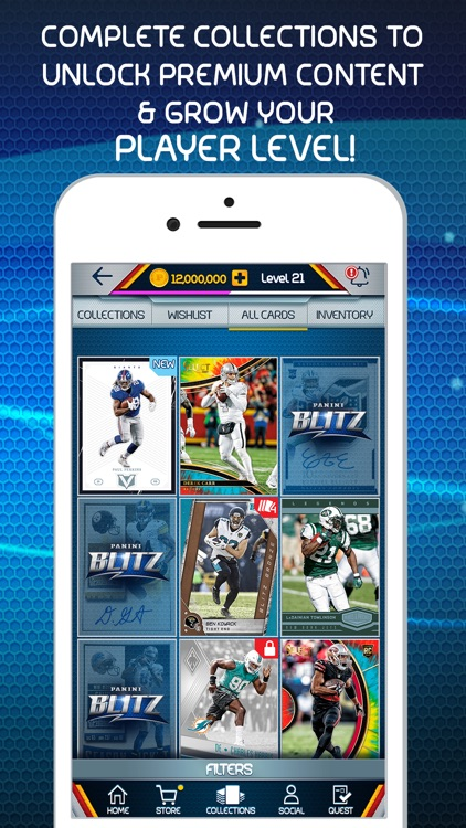 NFL Blitz - Trading Card Games screenshot-3