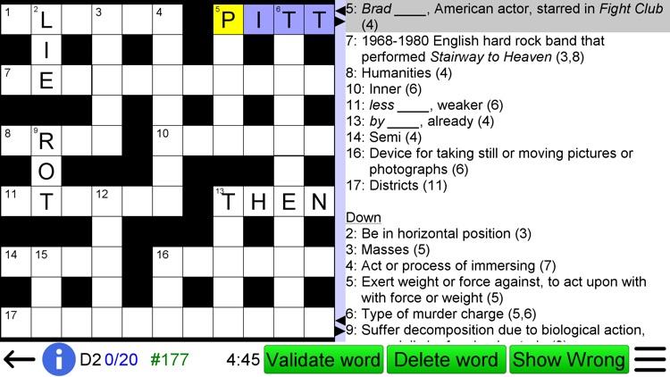 Crossword Unlimited + screenshot-4