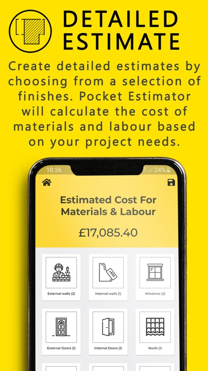Pocket Estimator screenshot-3