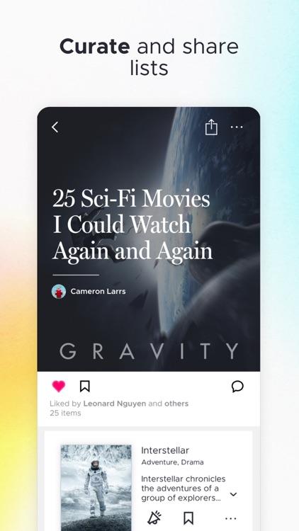 Likewise: Movie, TV, Book Recs screenshot-5