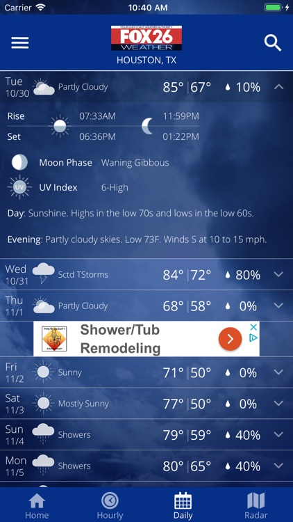 Fox 26 Houston Weather – Radar screenshot-4