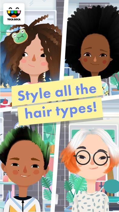 Toca Hair Salon 3 Screenshot