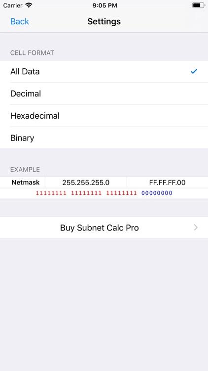 Subnet Calc screenshot-3