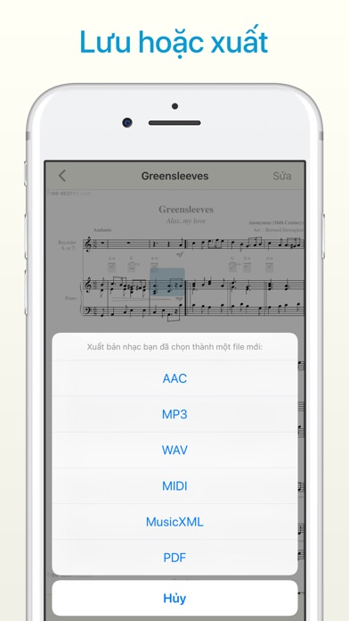 Screenshot for Sheet Music Scanner in Viet Nam App Store