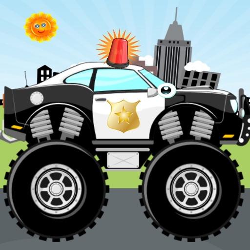 полицейские машины !