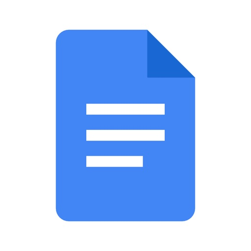 Google Docs: Sync, Edit, Share iOS App