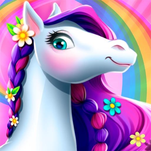 Моя волшебная лошадь ферма