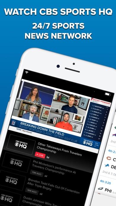 cancel CBS Sports App Scores & News app subscription image 1