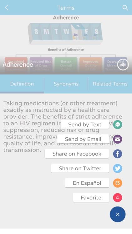 ClinicalInfo Glossary screenshot-3