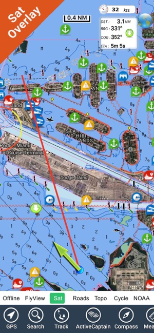 Charts - Maps FlyToMap GPS HD on the App Store