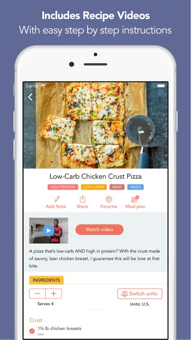 Screenshot for Fit Men Cook - Healthy Recipes in Lebanon App Store