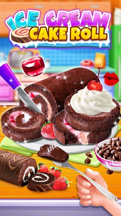 Ice Cream Cake Roll screenshot-3