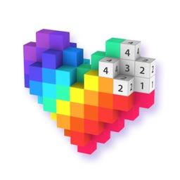 Voxel: Pixel Art Coloring