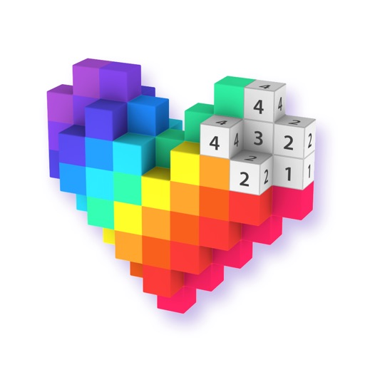 Voxel - 数字で塗り絵 ゲーム