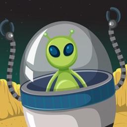 Alien Invaded Desert