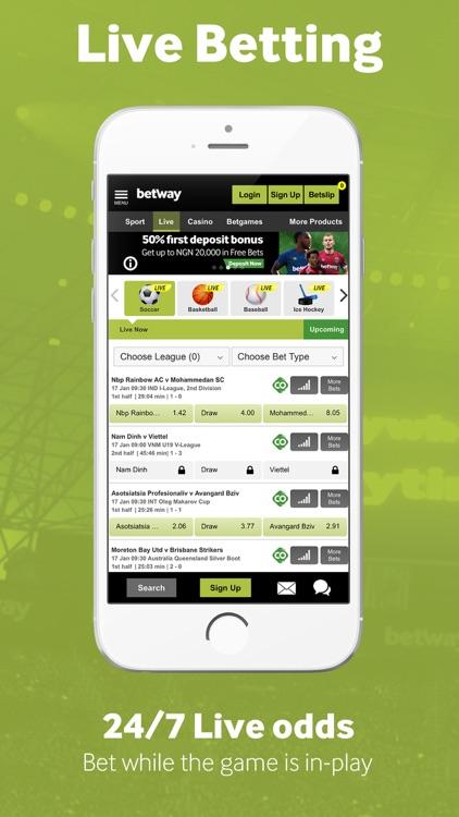 Betway Sports Betting screenshot-4
