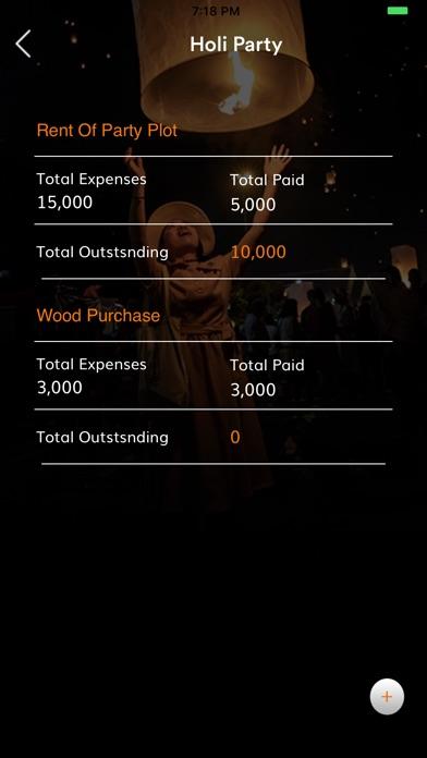 Festival Finance Management screenshot #5