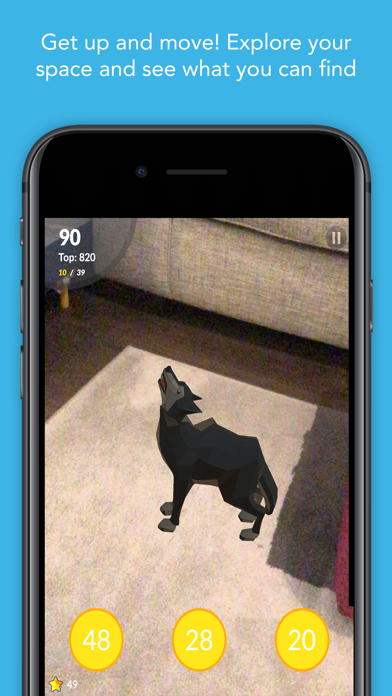 Screenshot for AR Multiplication Flash Cards in United States App Store