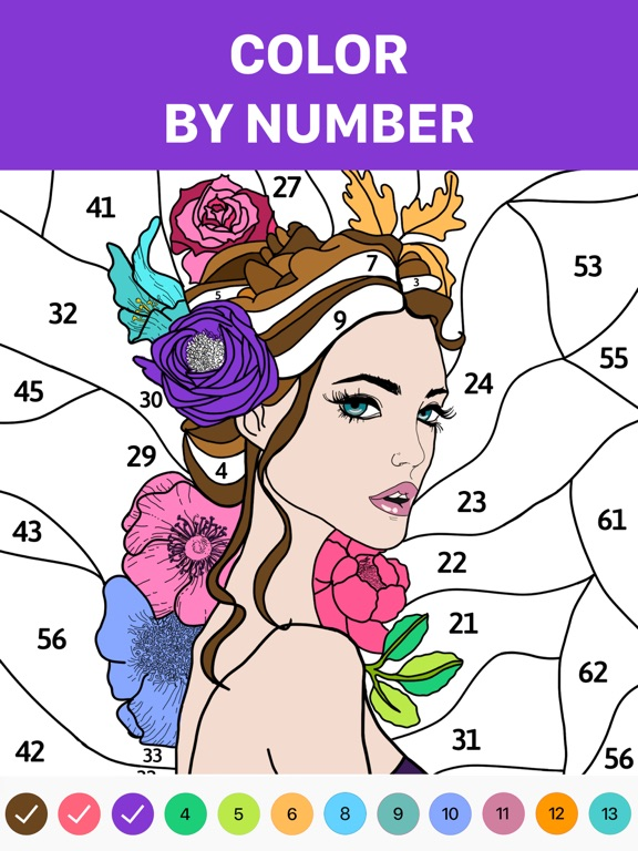 Hey Color: Paint by Number Art screenshot 6