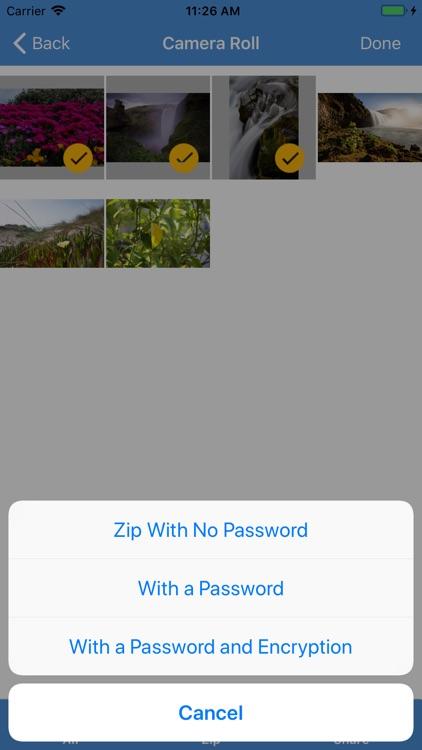 iZip - Zip Unzip Unrar Tool screenshot-4