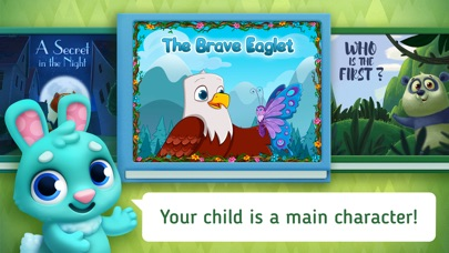Screenshot for Little Stories. Bedtime books in United States App Store