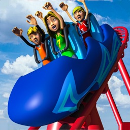Uphill Water Slide Theme Park