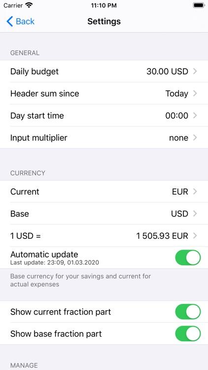 Money Manager+ screenshot-5