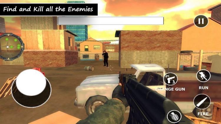 Destroy Base Terrorists Missio