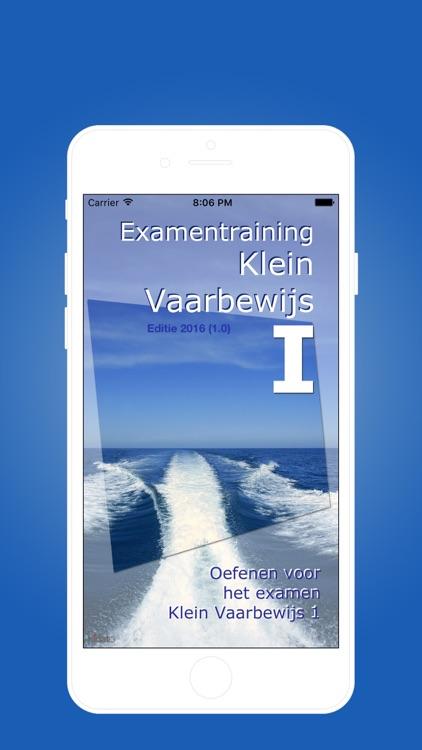 Examen Klein Vaarbewijs 1