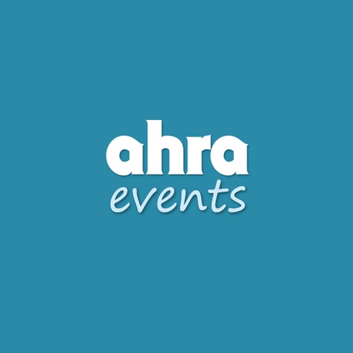 AHRA Events free software for iPhone and iPad