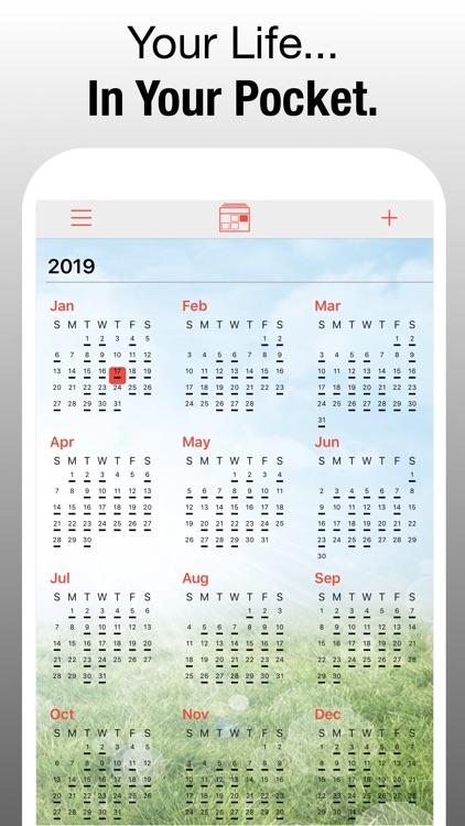 PocketLife Calendar screenshot-9