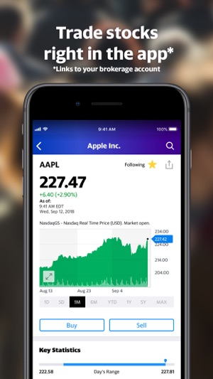 yahoo finance app not updating