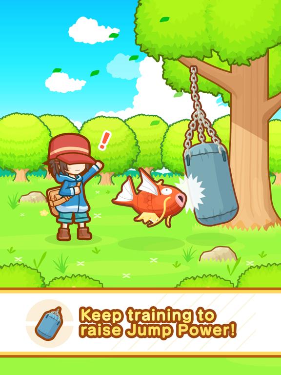 Pokémon: Magikarp Jump iPad app afbeelding 2