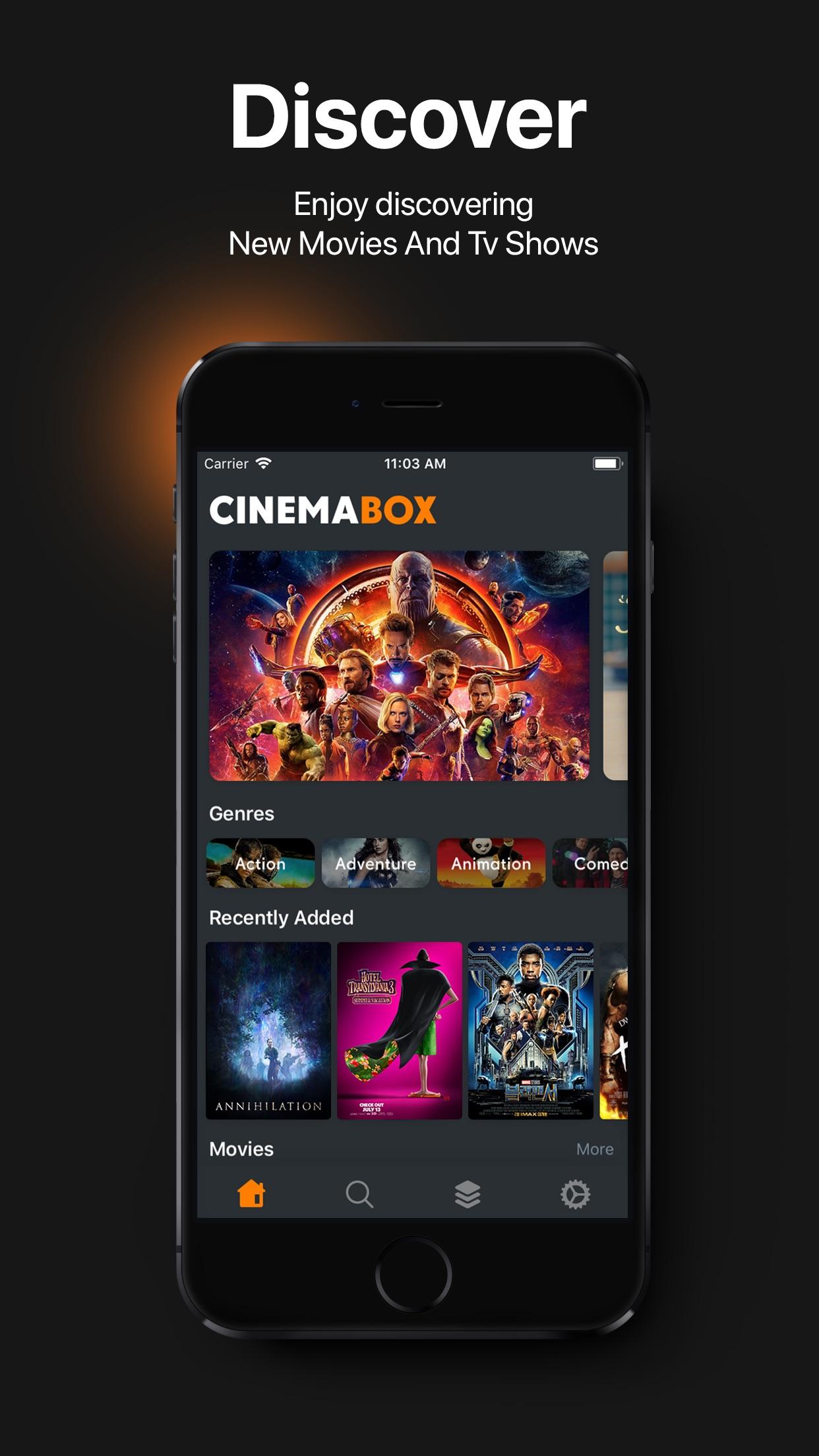 Cinema Box Screenshot