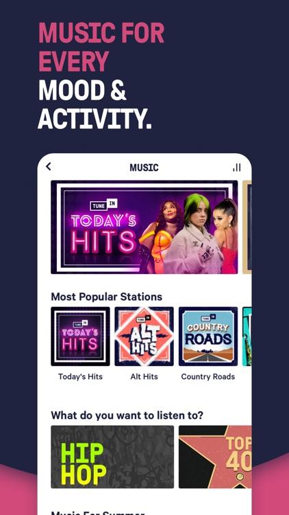 TuneIn Radio: Live News AM FM screenshot-4