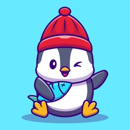 Penguin Stickers for iMessage