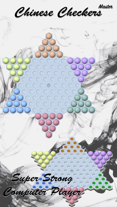 Screenshot #1 pour Chinese Checkers Master