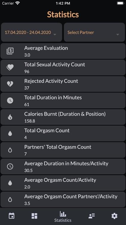 Intimassy-Sex Tracker Calendar screenshot-3