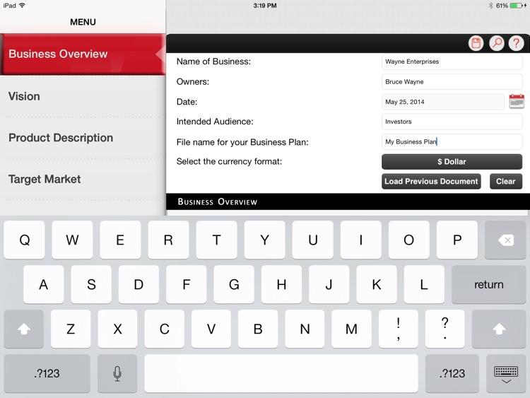 Business Plan Premier screenshot-3