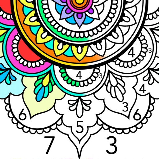 Mandala Color by Number