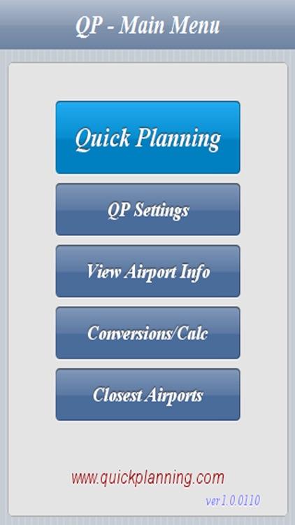 Quick Planning