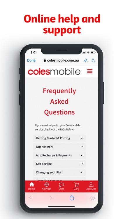 Coles Mobile